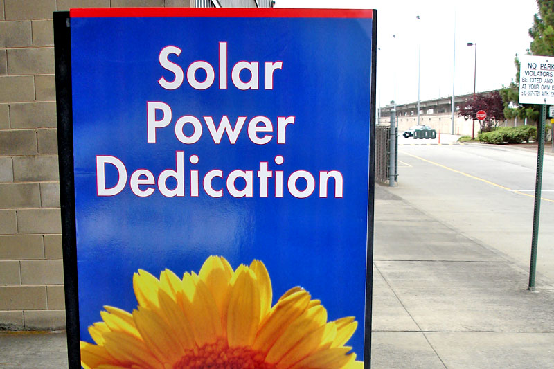 metrotuned AC Transit Solar Power Dedication